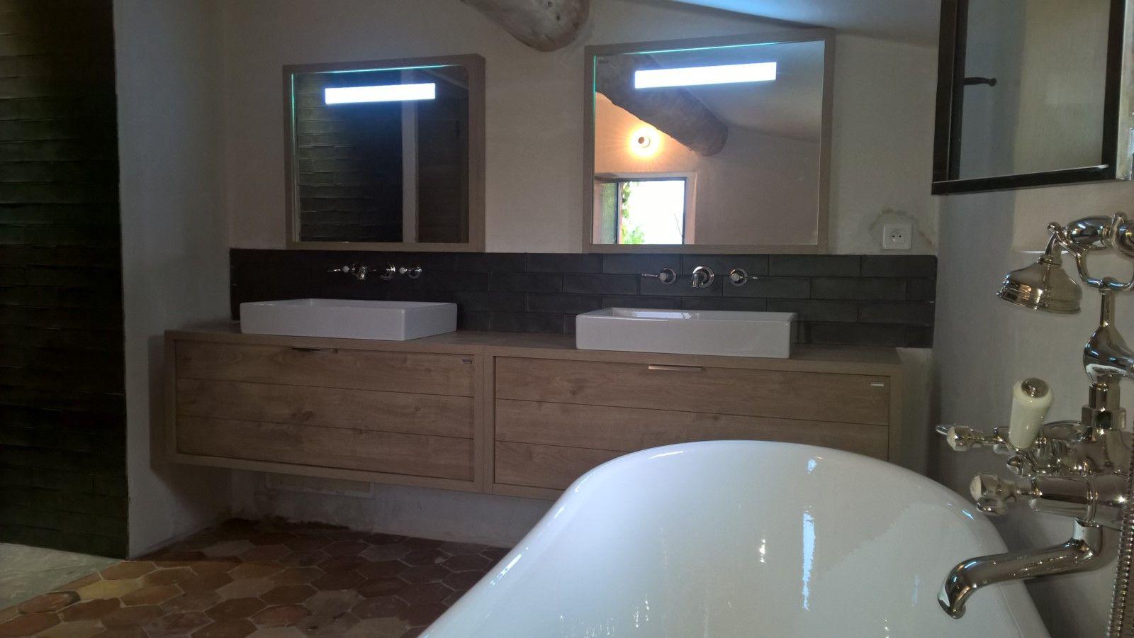 Salle De Bain Vasque Ilot ~ r alisation d une salle de bains avec baignoire ilot en fonte