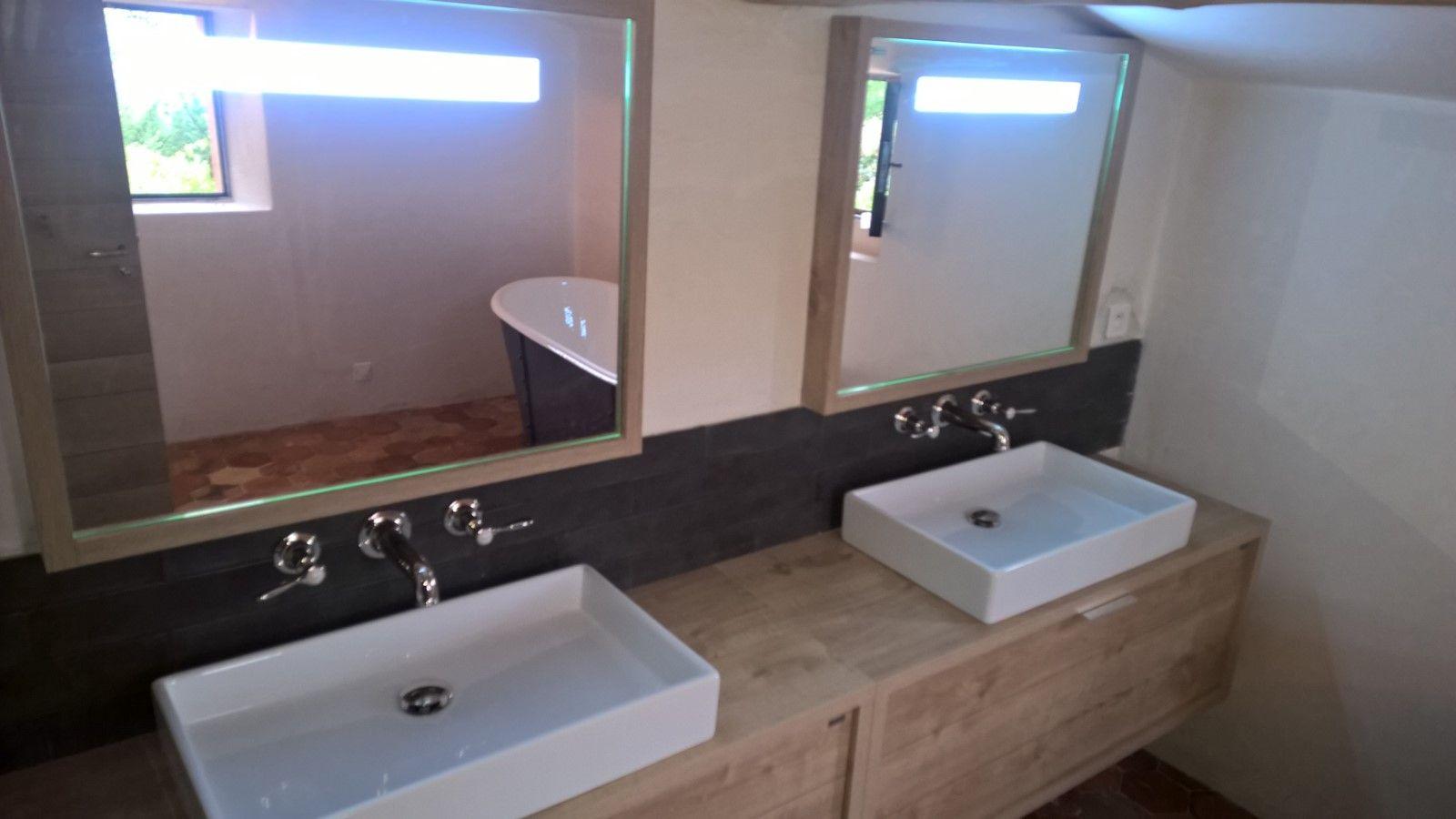 Salle De Bain Avec Baignoire réalisation d'une salle de bains avec baignoire ilot en