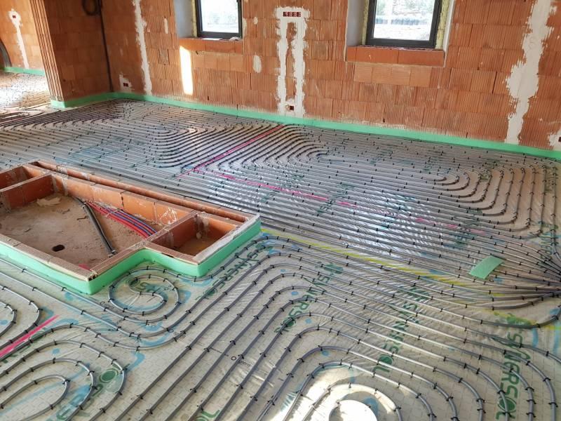 installation d 39 un syst me de chauffage reversible sur plancher chauffant avec production d 39 eau. Black Bedroom Furniture Sets. Home Design Ideas